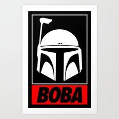 Defy-Boba Art Print