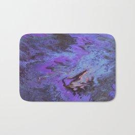 Sweetness 0009- Iridescent Fluid Painting Bath Mat