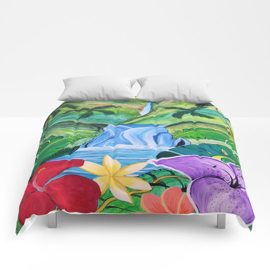 Tropical Escape Comforters