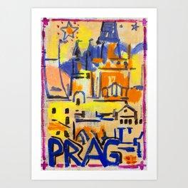 European Capital - Prag Art Print