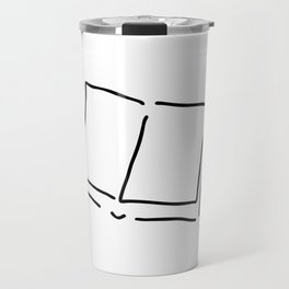 book with sides hard cover Travel Mug