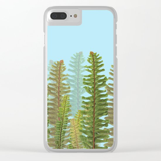 Green Nature! Clear iPhone Case