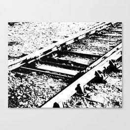 Railway Lines Canvas Print