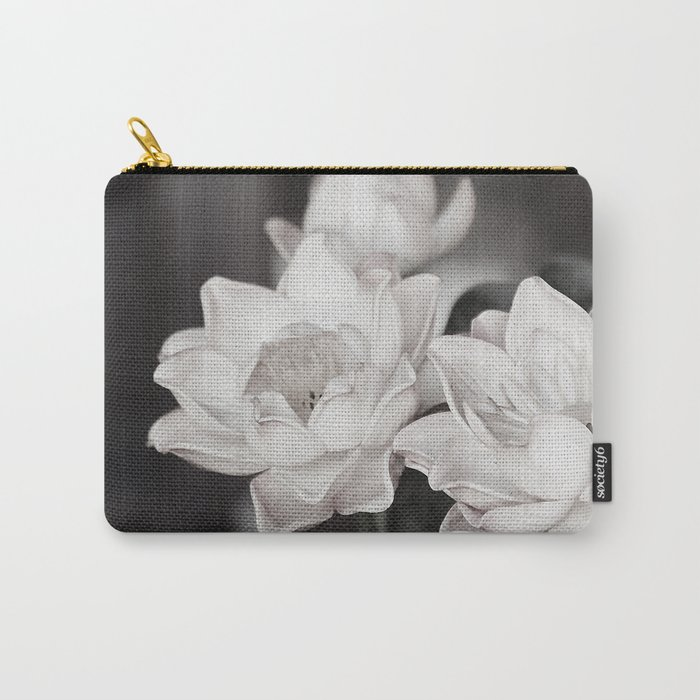 Lovely Water Lily Carry-All Pouch