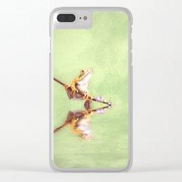Little Hopper Clear iPhone Case