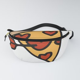 Love Fades Pizza Is Forever Fanny Pack