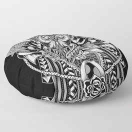 The Supreme Samurai Floor Pillow