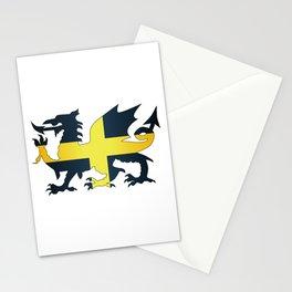 Welsh Dragon Saint David Flag Stationery Cards