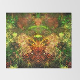 Extraterrestrial Palace 4 Throw Blanket