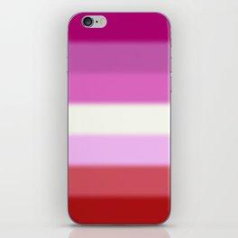 Lesbian Pride Flag iPhone Skin