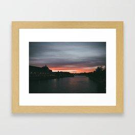 Night in Paris Framed Art Print