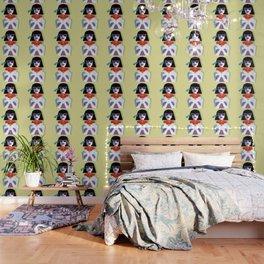 Pop Art Girl Wallpaper