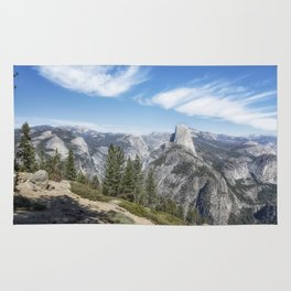 Half Dome from Washburn Point Rug