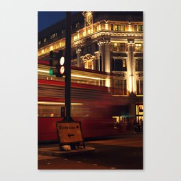 London Diversion Canvas Print