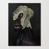 ripley Canvas Prints featuring Ripley II by Lowri W. Williams