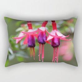 Fuchsia Magellanica Rectangular Pillow