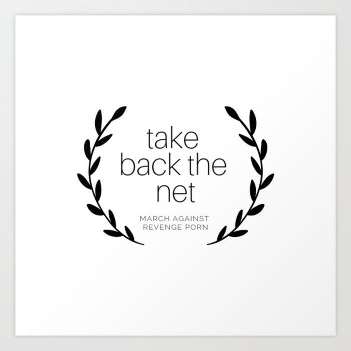 Take Back the Net. Art Print