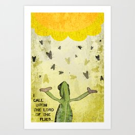 Lord of the Flies Art Print