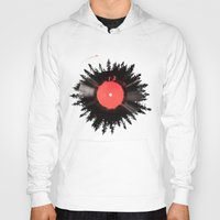 vinyl Hoodies featuring The vinyl of my life by Robert Farkas