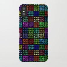Aztec Wannabe (Black) iPhone X Slim Case