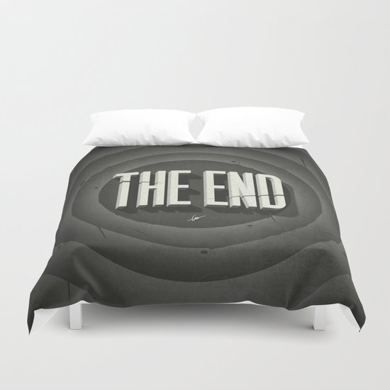 The End Duvet Cover