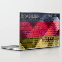 germany Laptop & iPad Skins featuring Team Germany by hannes cmarits (hannes61)