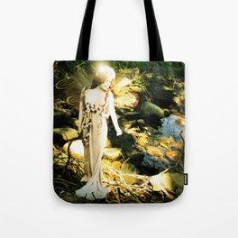 Naida the River Fairy Wood Nymph Tote Bag