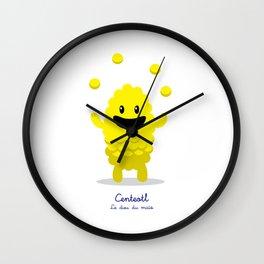 Centeotl - Le dieu du maïs (Lil Gods) Wall Clock