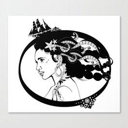 Pirate Nereid Canvas Print