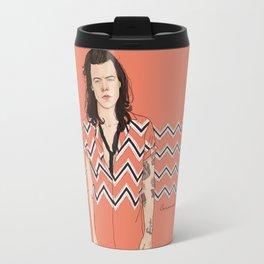 Harry Chevron  Travel Mug