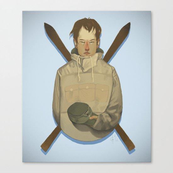 Gebirgsjäger Canvas Print