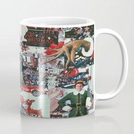 dark christmas collage Coffee Mug