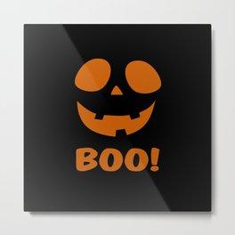 Boo! (Halloween) Metal Print
