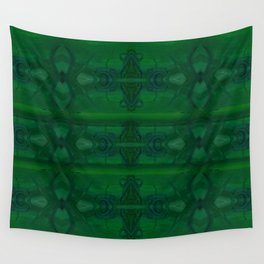 Patterns II Green Wall Tapestry