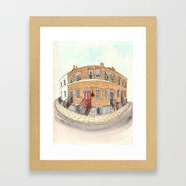 London by Charlotte Vallance Framed Art Print