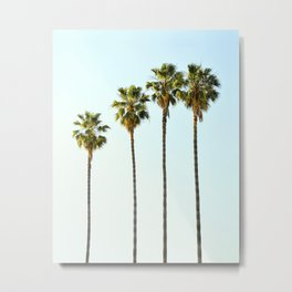 Four Palm Trees Metal Print