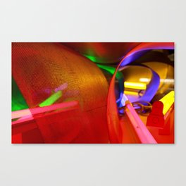 Look into the light Canvas Print
