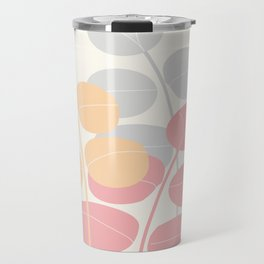 Pastel Leaves  #Society6 #decor #buyart Travel Mug