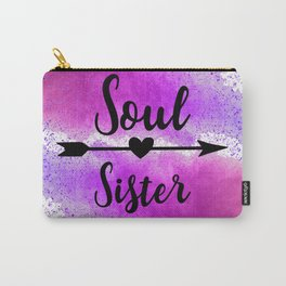 Soul Sister Carry-All Pouch