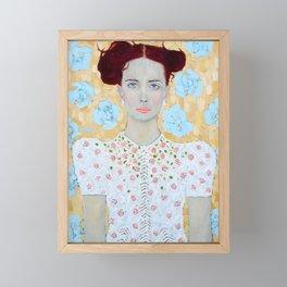 Janine Framed Mini Art Print