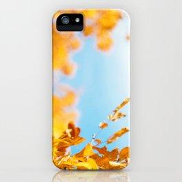 Golden Branch (Color) iPhone Case
