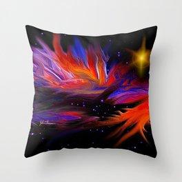 Solar winds Throw Pillow