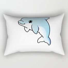 Baby Dolphin For Dolphin Lover Rectangular Pillow