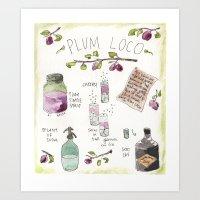 Artisan Cocktail Recipe Print Art Print