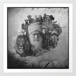 Jewish Pride Art Print