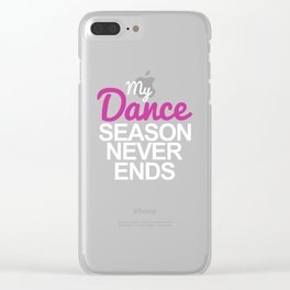 Dance Dance Teacher Dance Dancing Clear iPhone Case