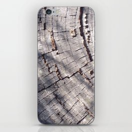 Wooden Rings iPhone Skin