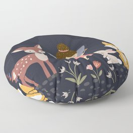 Enchanted Forest Floor Pillow