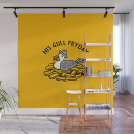 His Gull Fryday Wall Mural