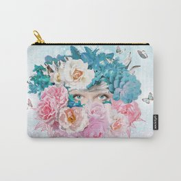 FLORAL EVA Carry-All Pouch